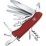 Victorinox Taschenmesser Work Champ (21 Funktionen, Feststellklinge, Zange, Metallsäge) rot
