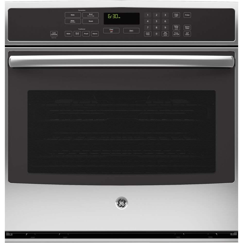 "GE PT7050SFSS Profile 30"" Stainless Steel Electric Single Wall Oven - Convection (Certified Refurbished)"