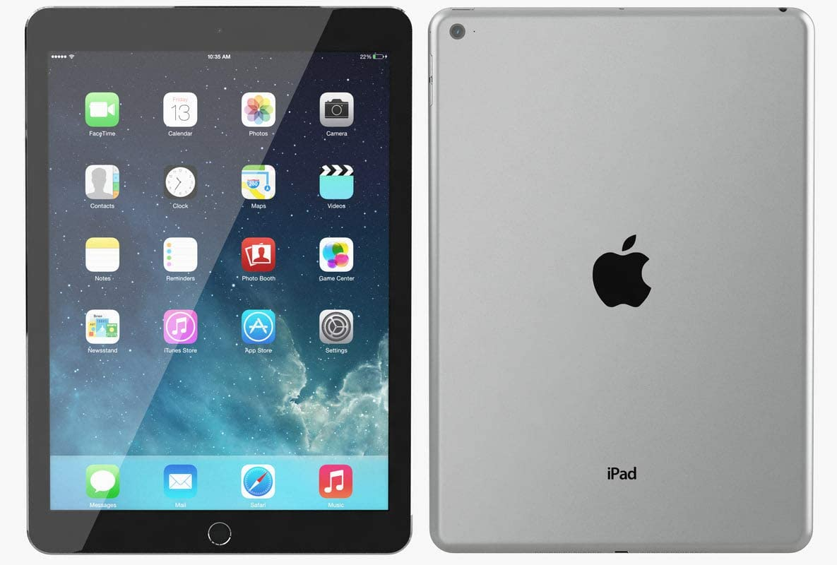 Amazon.com : Apple iPad Air 2 MH2M2LLA-US 64GB Wifi + Cellular 9.7in Space  Gray (Renewed) : Computers & Accessories