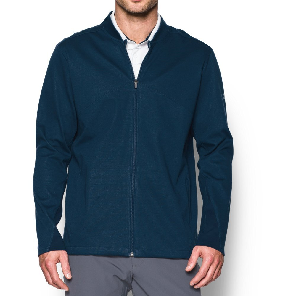 Under Armour Men's Storm Elements Jacket,Academy (408)/Overcast Gray, X-Large by Under Armour