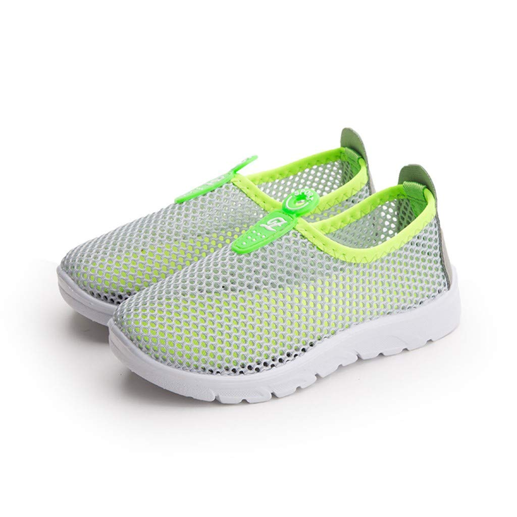 ❤️Rolayllove❤️ Kids Girl Altheic Running Mesh Lightweight Breathable Sneakers Easy Walk Casual Sport Shoes for Boys