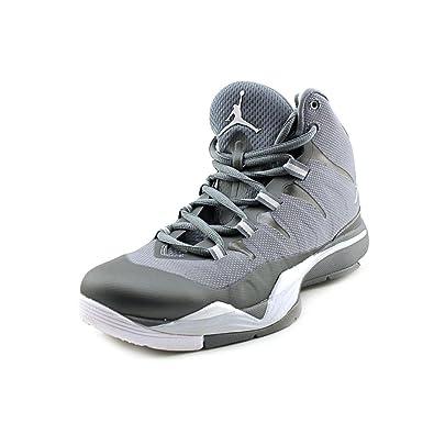 db4865232c4 NIKE Jordan Super.Fly 2 BG Youth Boys Gray Basketball Shoes Size UK 5   Amazon.co.uk  Shoes   Bags