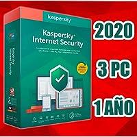 KASPERSKY INTERNET SECURITY 2020 3PC licencia electrónica