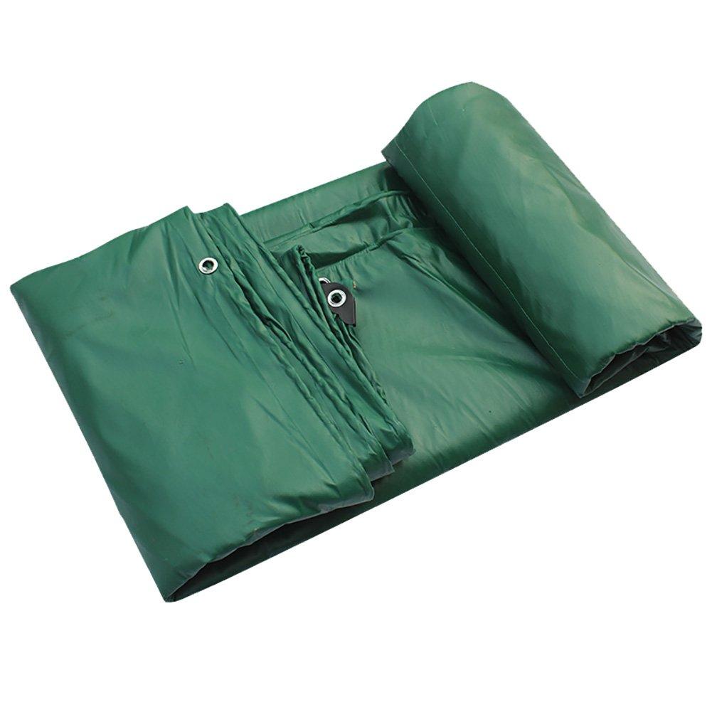 GUOWEI-pengbu ターポリン キャンバス リノリウム シェード 日焼け止め 耐寒性 防水 不凍液 老化防止 折畳み式 プラスチック (色 : Green, サイズ さいず : 4.8x5.8m) B07FXT6QYN 4.8x5.8m|Green Green 4.8x5.8m