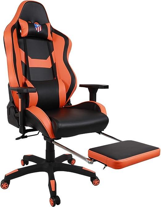 Executive ergonomique Chaise Chaisecuir lombaire à Chair bureau Gaming eSPORTS Racing de hautdesign Kinsal Chaise dossier pivotant support premium shxtCdrQ
