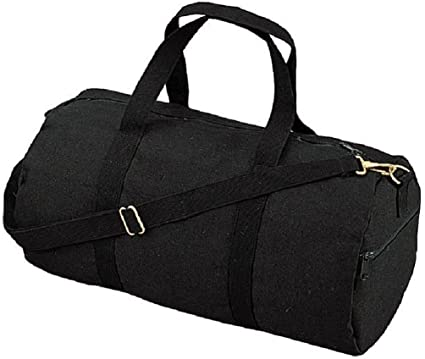 """86ee90faa Image Unavailable. Image not available for. Color: Canvas Or Nylon 19"""" Sports  Gym Duffle Carry Shoulder Bag ..."""