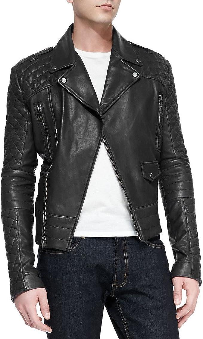 Kingdom Leather Mens Cow Leather Jacket KC003