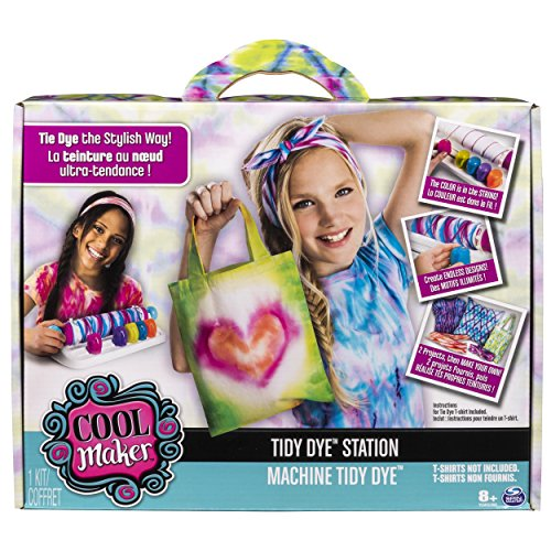 (Cool Maker - Tidy Dye Station Tie Dye Fashion Making Activity Craft Kit for)