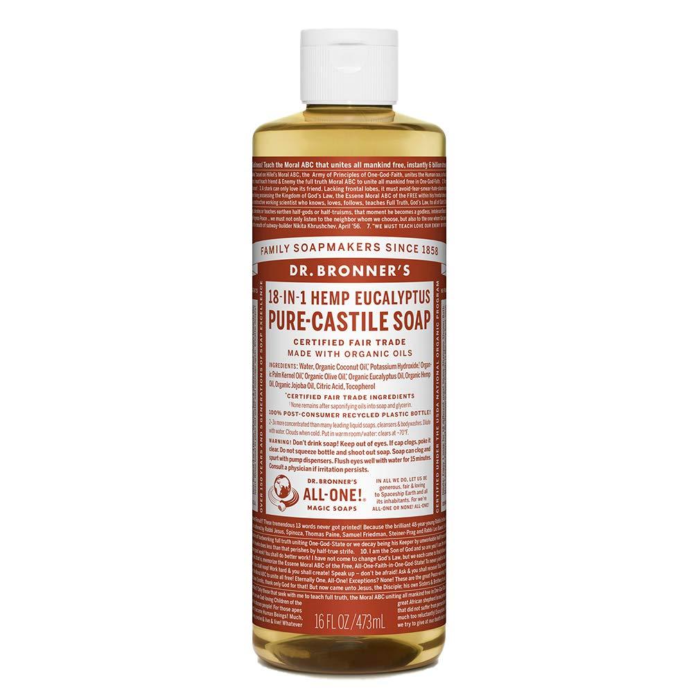 Dr. Bronner's Organic Eucalyptus Pure-Castile Liquid Soap