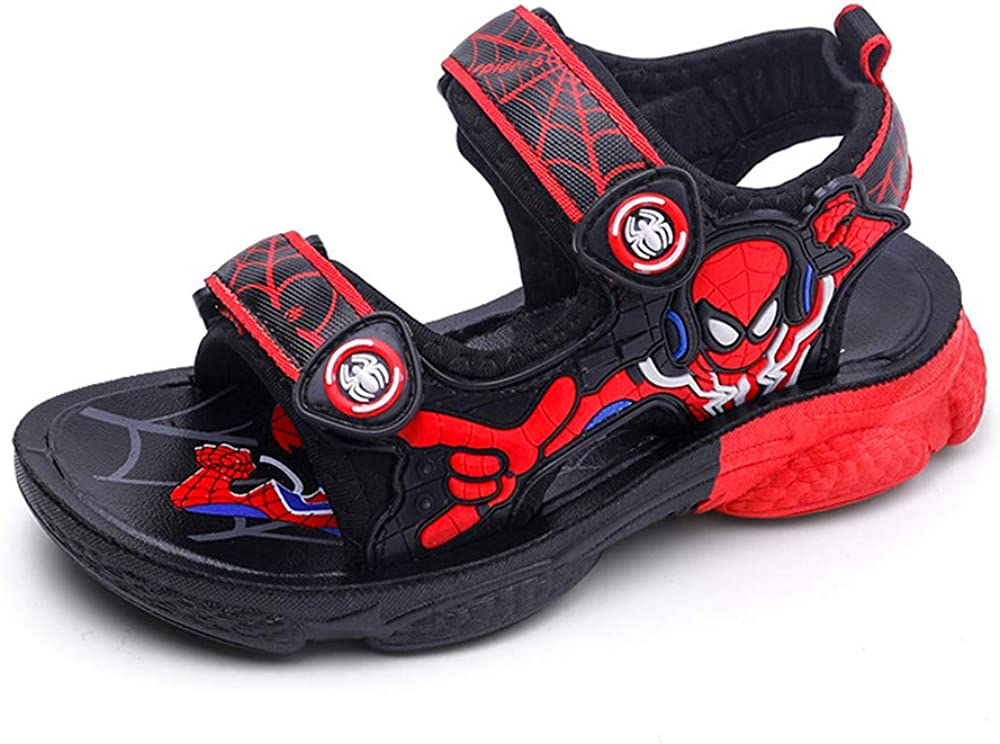 2020 Nueva Versi/ón Sandalias De Verano Antideslizantes Spiderman