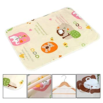 Mother & Kids Baby Mattresses For Girls Boys Cartoon Cotton Soft Cute Urine Pad Infant Diaper Waterproof Bedding Changing Cover Pad 2pcs Mattresses