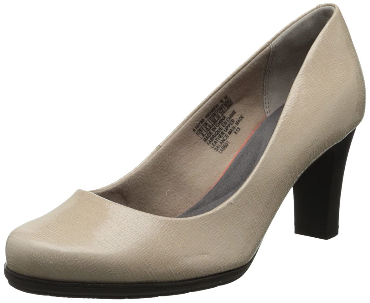Warm Taupe Foil 36 EU Rockport Wohommes Total Motion Pump