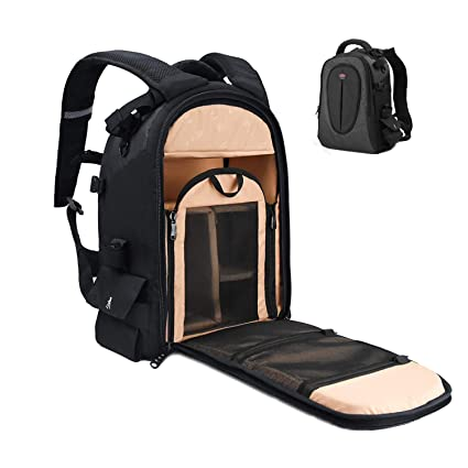 Waterproof Digital Dslr Photo Padded Camera Backpack Multi-functional Camera Bag For Outdoor Traveling Hiking For Canon Nikon Consumer Electronics Camera/video Bags