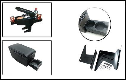 Amazon.es: Reposabrazos negro universal para asiento de coche con ...