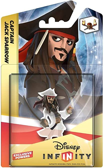 Disney Infinity Crystal - Figurilla Captain Jack Sparrow ...