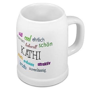 Positive Eigenschaften Tasse mit Namen Kathi
