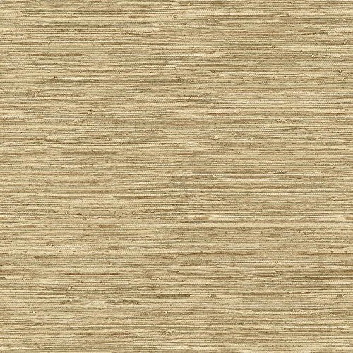 York Wallcoverings Tropics Horizontal Grasscloth Removable Wallpaper, Cream/Beige Pearl/Grey