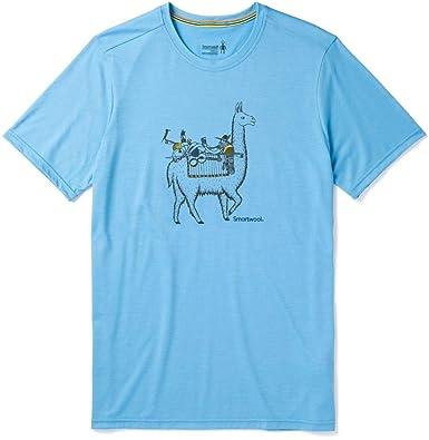 c69b58857db8 SmartWool Men's Merino Sport 150 Llama Adventures Tee | Amazon.com