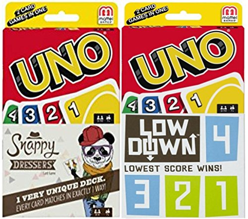 Uno Mega 2 Pack! Uno, Snappy Dressers & Low Down