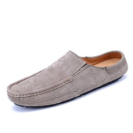 Xiazhi-shoes, Conducción de los Hombres Penny Mocasines Cuero Genuino Zapatillas Casuales Slip-