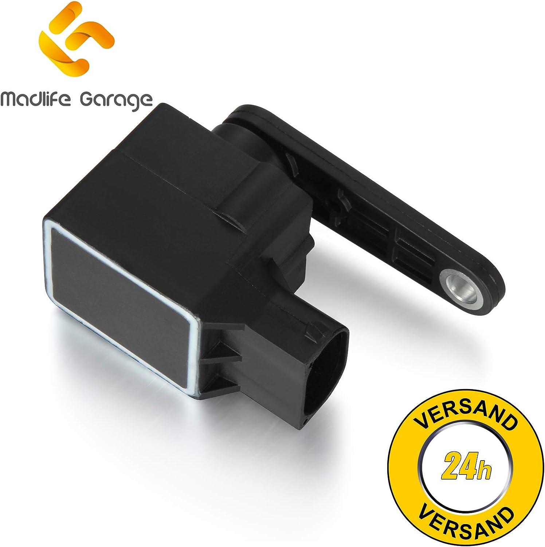 Sensore di livello allo xeno per regolazione della profondit/à dei fari A3 A4 A6 A8 TT Madlife Garage 4B0907503