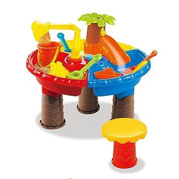 Foxom 22 Piezas Juguetes de Playa Conjunto de Cubo de Arena Palas ...