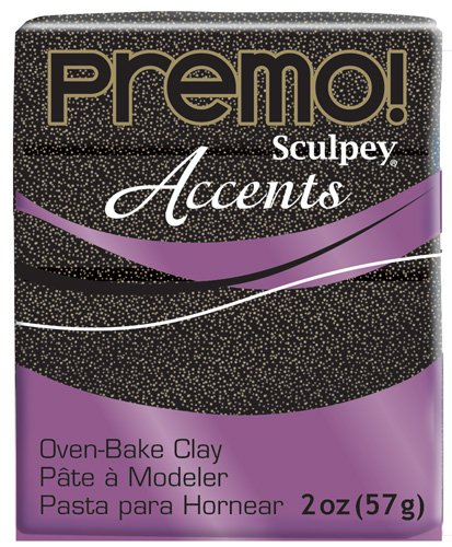 Sculpey Premo Polymer Art Clay Accents, Twinkle Twinkle