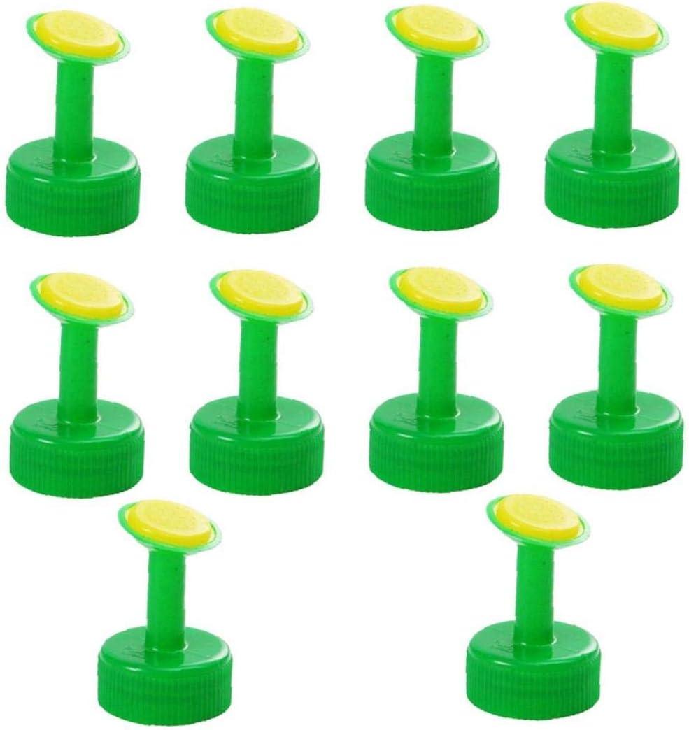 XKJFZ Sistema De Riego por Aspersión Boquilla De Plástico Flor De Riego De Botella De Spray Tapa De La Boquilla Tapón Pulverizador De Irrigación Portátil para 10pcs Pote Jardín Verde