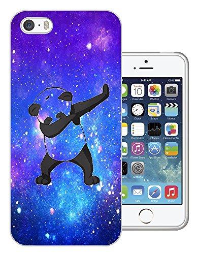 003335 - Panda DAB Dance Move Rap Design iphone 5C Fashion Trend Protecteur Coque Gel Rubber Silicone protection Case Coque