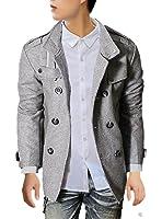(ドートル オトゥール) D'autres hauteurs 3色 3サイズ 長袖 襟付き ビジネス カジュアル トレンチ ロング 丈 コート 大きい サイズ