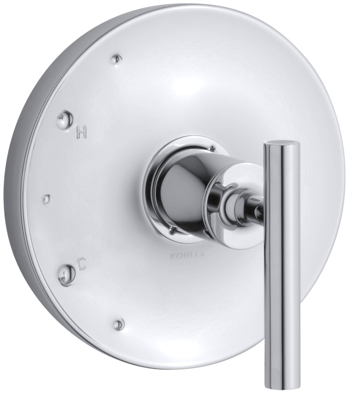 KOHLER K-T14423-4-CP Purist Rite-Temp Valve Trim, Polished Chrome ... - KOHLER K-T14423-4-CP Purist Rite-Temp Valve Trim, Polished Chrome - Faucet  Handles - Amazon.com
