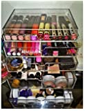 Acrylic Cosmetic Cube Organizer Makeup Case 5-Drawer Mini (A5M)