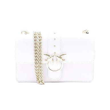 Pinko Borsa Love Simply 8 White