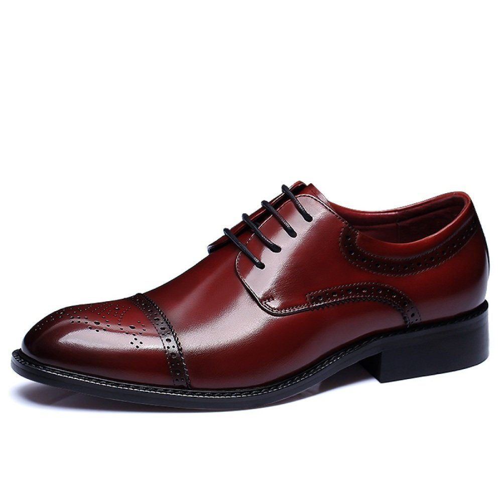 LEDLFIE Herrenschuhe Business Business Business Lederschuhe Kleid Schuhe Schnürsenkel e246e6