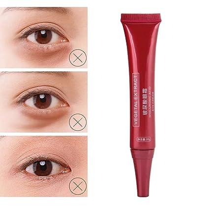 Crema Contorno de Ojos, Crema para los ojos para antienvejecimiento, ojeras, bolsas, arrugas y antiarrugas hidratante reparación ojo elevación ...
