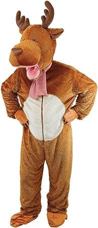 Deluxe Adult Reindeer Costume (disfraz): Amazon.es: Juguetes y ...