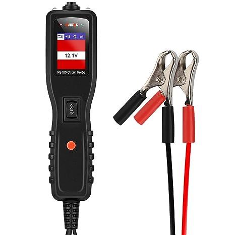 Ancel PB100 - Kit de comprobación de circuito eléctrico de automóviles, herramienta de diagnóstico de