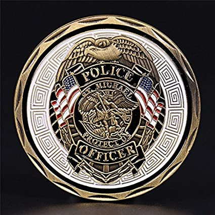 Non-currency Coins - 2019 1pc Police Officer St Michael