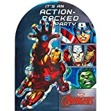 Marvel Avengers Invitations | Pack of 8| Party Supply