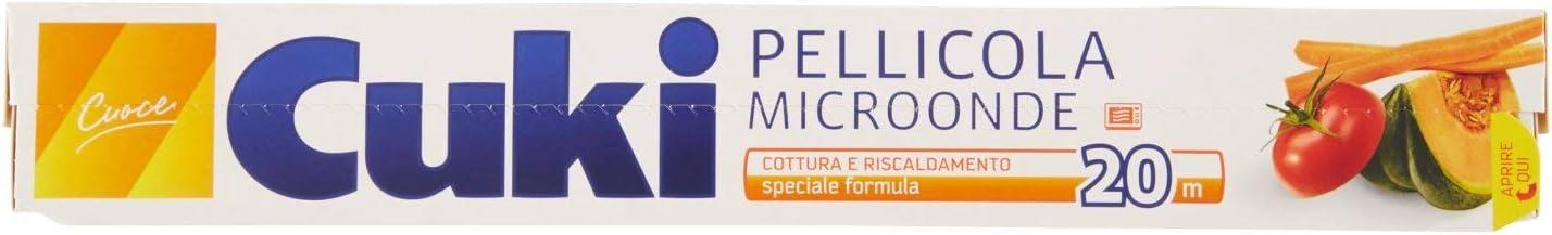 Cuki - Film transparente para microondas, 20 m: Amazon.es ...