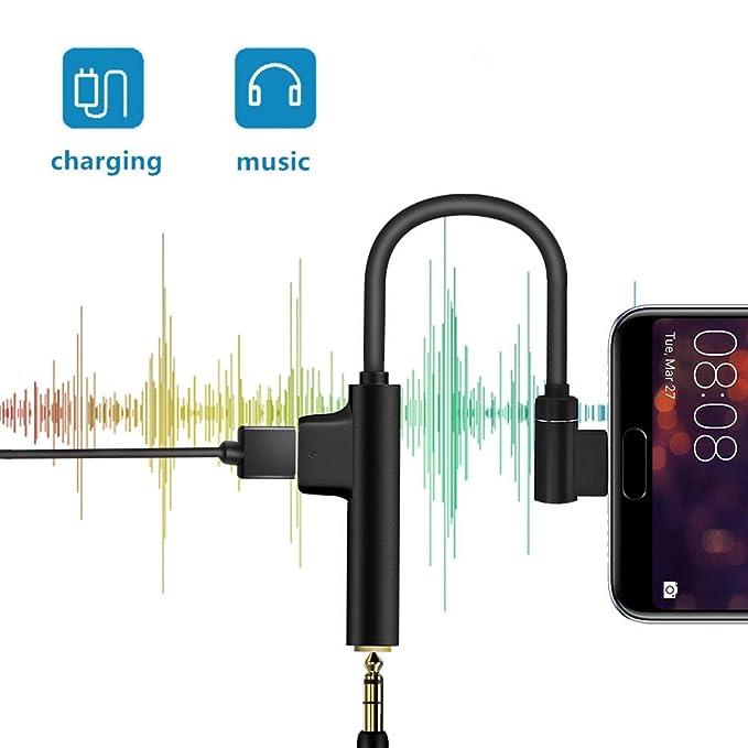 Amazon.com: DigitalLive - Adaptador de audio 2 en 1 USB tipo ...