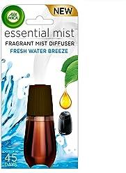 Air Wick Essential Oils Diffuser Mist Refill, Fresh Water Breeze, 1ct