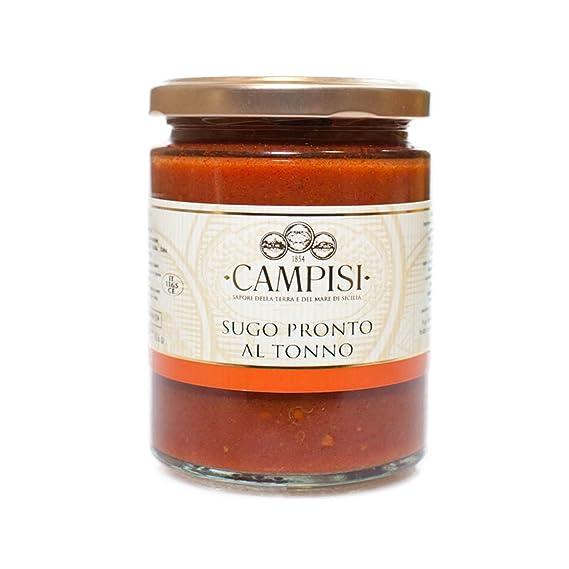 Campisi | Salsas de Pescado Lista | (Atùn | 220 gr.)