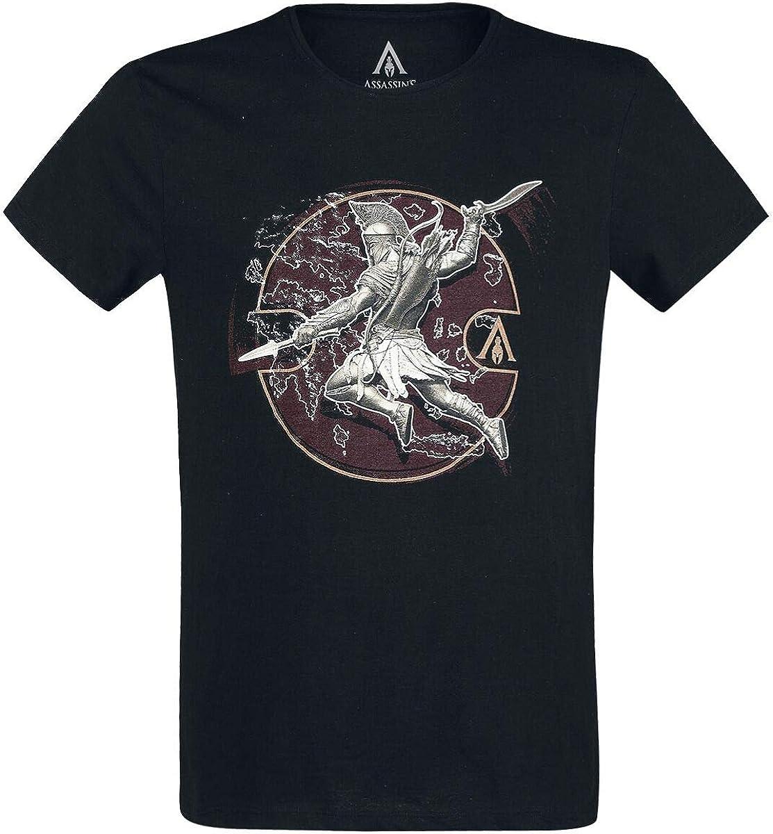 Assassin's Creed Odyssey - Alexios Desitiny Camiseta Negro M