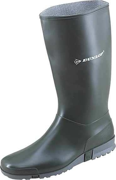 Dunlop 1612 Damen - Gummistiefel Sport Blau (40, Blau)