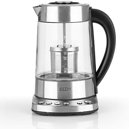 Beem Tee 1110SR-Elements of Coffee & Tea - Hervidor de agua (2000 ...