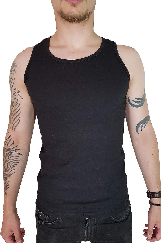 T-Shirt D/ébardeur Homme gar/çon Sport d/étente Loisir /ét/é Vacances en Coton Haute qualit/é
