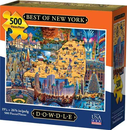 City Jigsaw 500 Piece (Dowdle Jigsaw Puzzle - Best of New York - 500 Piece)
