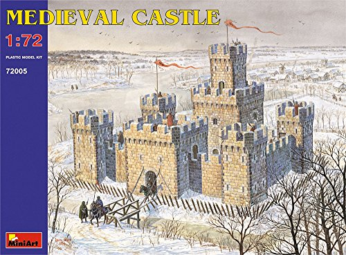 Castle Model (MiniArt Medieval Castle 1:72 Scale Military Model Kit)