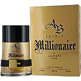 AB Spirit Millionaire Eau De Toilette Spray for Men by Lomani 3.3 Ounce